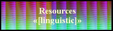 Resources   «[linguistic]»