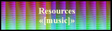 Resources   «[music]»